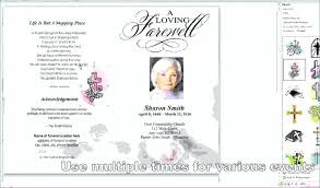 Funeral Templates Free Mesmerizing Template Free Obituary Templates Geotrackintl