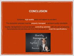 tqm latest model conclusion achieving