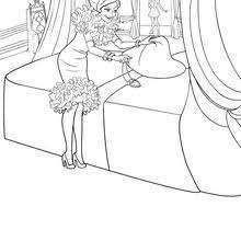 Small Picture Barbie THE PRINCESS CHARM SCHOOL coloring pages Online