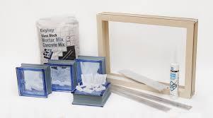 glass block diy kit