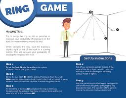 where to hook and ring toss game and what to look for