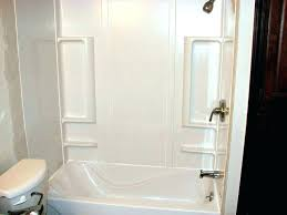 replace bathtub with shower cost replace bathtub shower walls