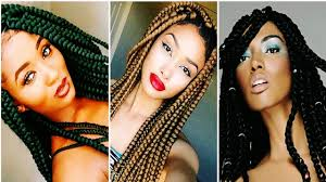 Box Braids Hair Style 25 cool big box braids hairstyles for black women youtube 3047 by wearticles.com