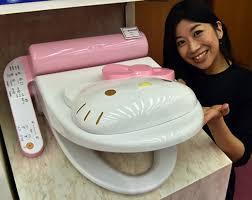 gold foil toilet seat. sanrio to release a hello kitty toilet seat gold foil