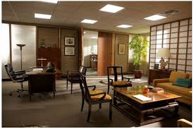 japanese office furniture. Bert Cooperu0027s Japanese Inspired Office Room Love The Paper Screen And Chairs Furniture F