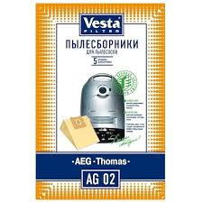 <b>Vesta Filter</b> AG 02 (<b>комплект пылесборников</b>). Дешевле, чем у ...