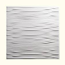 genesis 2 ft x 2 ft drifts white ceiling tile 751 00 the home