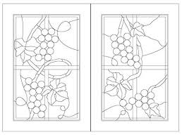 simplistic stained glass patterns for free free stained glass lamp patterns for beginners f1259477
