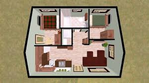 low budget modern 2 bedroom house design floor plan
