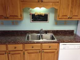 Paint Kitchen Countertops To Look Like Granite Painted Laminate Countertops Ramblings Of This Southern Mom