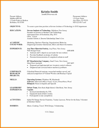 Resume Education Section Undergraduate Student Refrence 5 Cv Samples