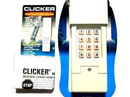 how to program genie garage door opener remote my garage door keypad stopped working chamberlain garage