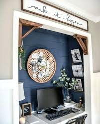 Closet home office Desk Clothes Office In Closet Ideas Blue Painted Walls Interior Designs Closet Office Small Closet Home Office Ideas The Hathor Legacy Office In Closet Ideas Blue Painted Walls Interior Designs Closet