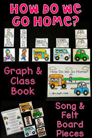 How We Get Home Chart How Do We Go Home Graph Class Book Song And More Great