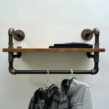 iron pipe clothes drying rack black clothing tutorials guide patterns laundry glamorous