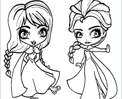 Disney Princess Coloring Pages Frozen Elsa And Anna Lovely Printable