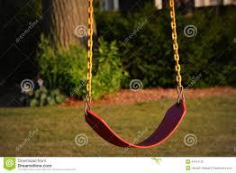 Tree Swing Single Tree Swing Stock Photo Image 44412130