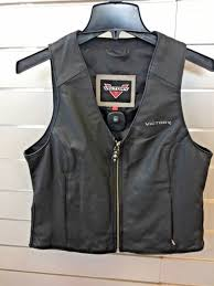 victory motorcycles women s leather vest med p n 286321603