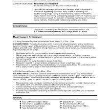 Resume For Mechanical Engineer With Experience Mechanicaling Resume Format Rare Entry Level Professional Resumes 20