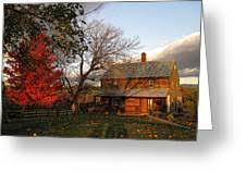 The Abraham Strickler House In Autumn Photograph by Lara Ellis