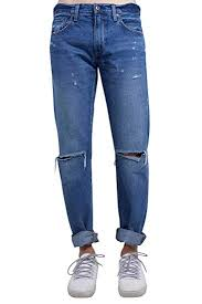 Levis Made And Crafted Size Chart Levis Made And Crafted Uomo Jeans 511 Slim Stone Wash Con