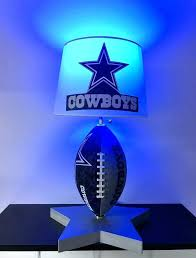 dallas cowboy light cowboys lamp football table man cave lamps night light s