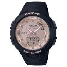 Baby-G Q-Squad Bluetooth Stephtracker horloge <b>BSA</b>-B100MF-1AER