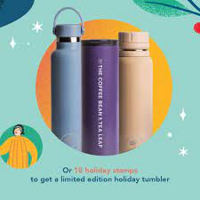 Aww, and i sooo love this place! The Coffee Bean Tea Leaf S 2021 Giving Journal And Limited Edition Holiday Tumbler