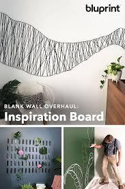 diy inspiration board blank walls
