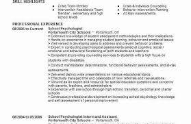 sample school psychologist resumes best resume templates school psychology resume school psychologist