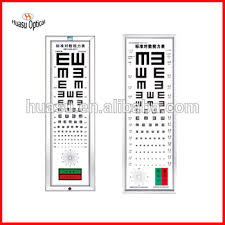 Vision Levels Chart Visual Acuity Chart Ophthalmic Snellen Vision Chart With Lamp Buy Visual Acuity Chart Ophthalmic Vision Chart Snellen Chart Product On Alibaba Com