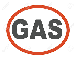 Gas Station Logo Gas Oil Station Logo Processing Factory Icon Silhouette Pipeline