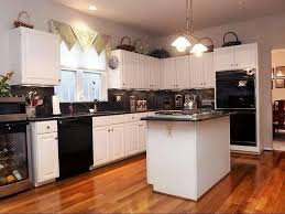 kitchen design white cabinets black appliances. Kitchen Design White Cabinets Black Appliances New At Excellent