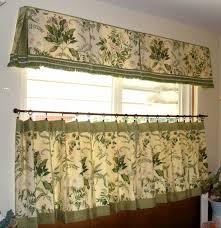 Sage Green Kitchen Curtains Elegant Kitchen Curtains Kitchen Tailored Valance Embroidered
