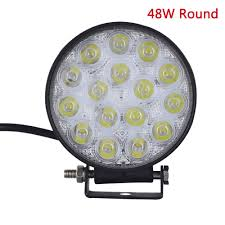 110 Volt Led Work Lights 48 Watt 4 5 Inch Led High Power Cree Work Lamp Light 3528 Lumens 12 24 Volt
