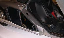 mclaren f1 engine bay. 1996 mclaren f1 side luggage compartment mclaren engine bay