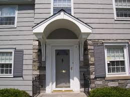 front door overhangFront Door Overhang with Posts  Front Door Overhang Designs