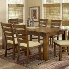 Formal Dining Set With Extendable Pedestal Table By Ashley Solid Wood Formal Dining Room Sets