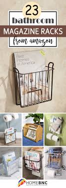 Clip On Magazine Holder 100 Best Bathroom Magazine Rack Ideas to Save Space in 100 92