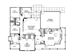 mountain home plan first floor 007d 0055 house planore