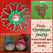 Easy Christmas Crafts 3 Easy Christmas Crafts From Thrift And Dollar Store Items