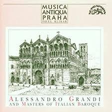 Alessandro Grandi und Meister des italienischen Barocks: Amazon.de: Musik