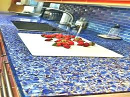 recycled material countertops for kitchen glass recycled glass kitchen countertops uk