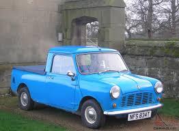 Classic 1979 Blue Austin Mini Pickup Truck - with MOT and Tax