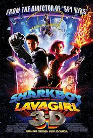 Shark boy and lava girl poster