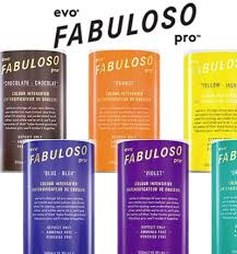 Evo Fabuloso Colour Chart Products Astonishing Hair