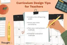 Importance Of Philosophy In Curriculum Design Curriculum Design Definition Purpose And Types