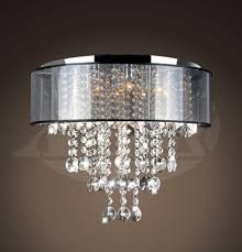 vanessa chrome and translucent black shade 9 light crystal chandelier 50 5h x