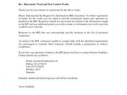 Response To Rfp Sample Rfp Examples