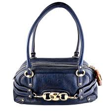 gucci guccissima blue leather wave boston bag bamboo zipper pulls for at 1stdibs